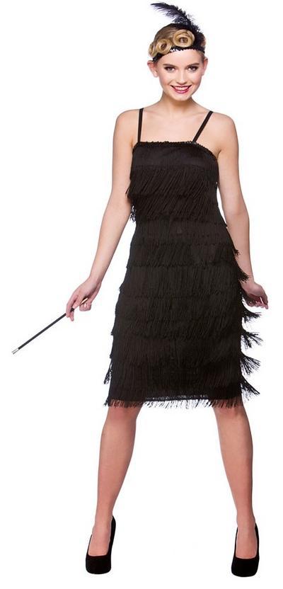 Jazzy Black Flapper Costume