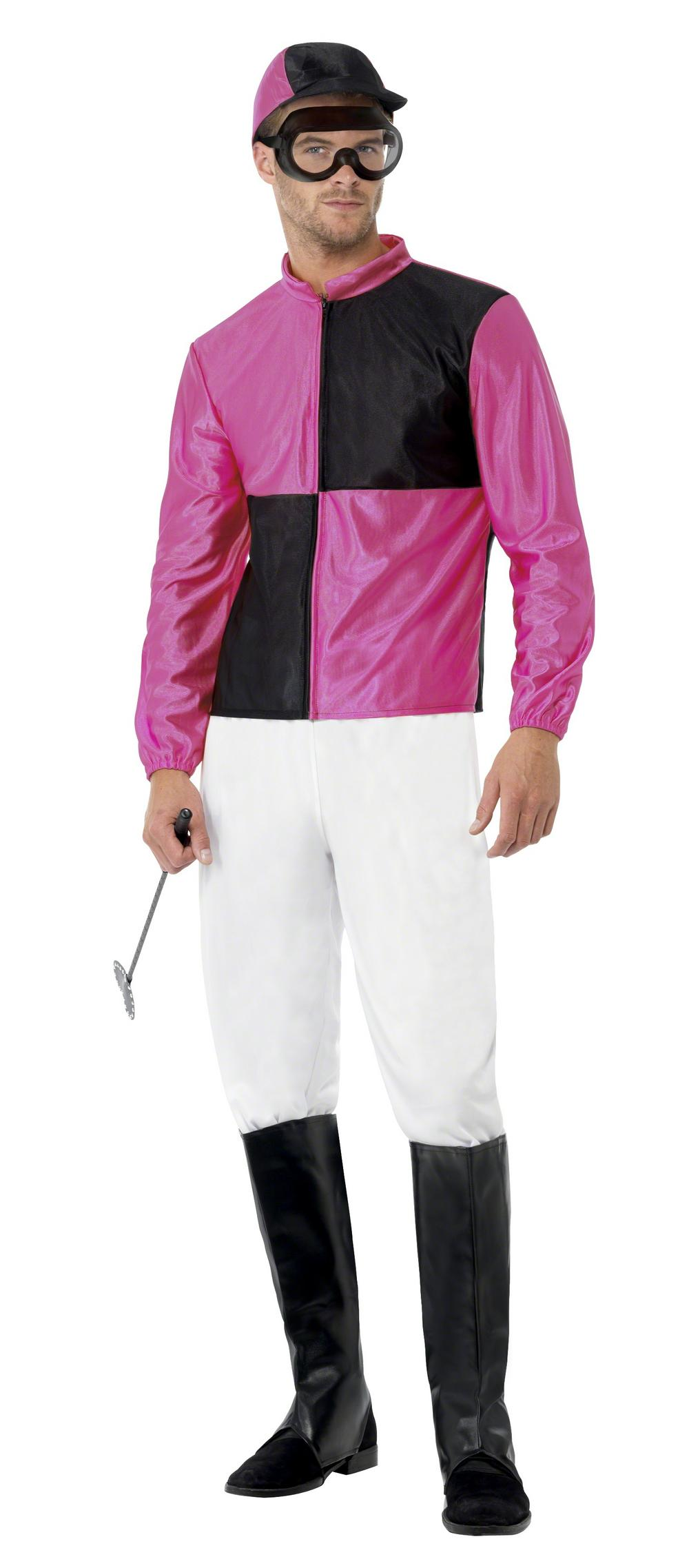 Pink and Black Jockey Costume