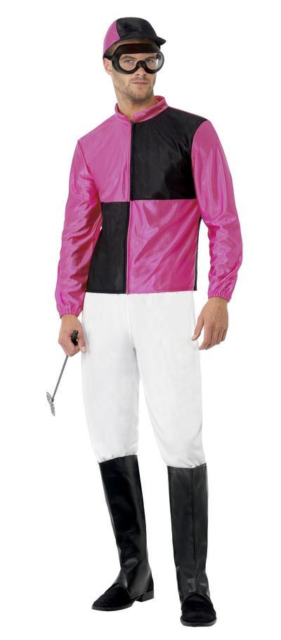 Pink and Black Jockey Costume