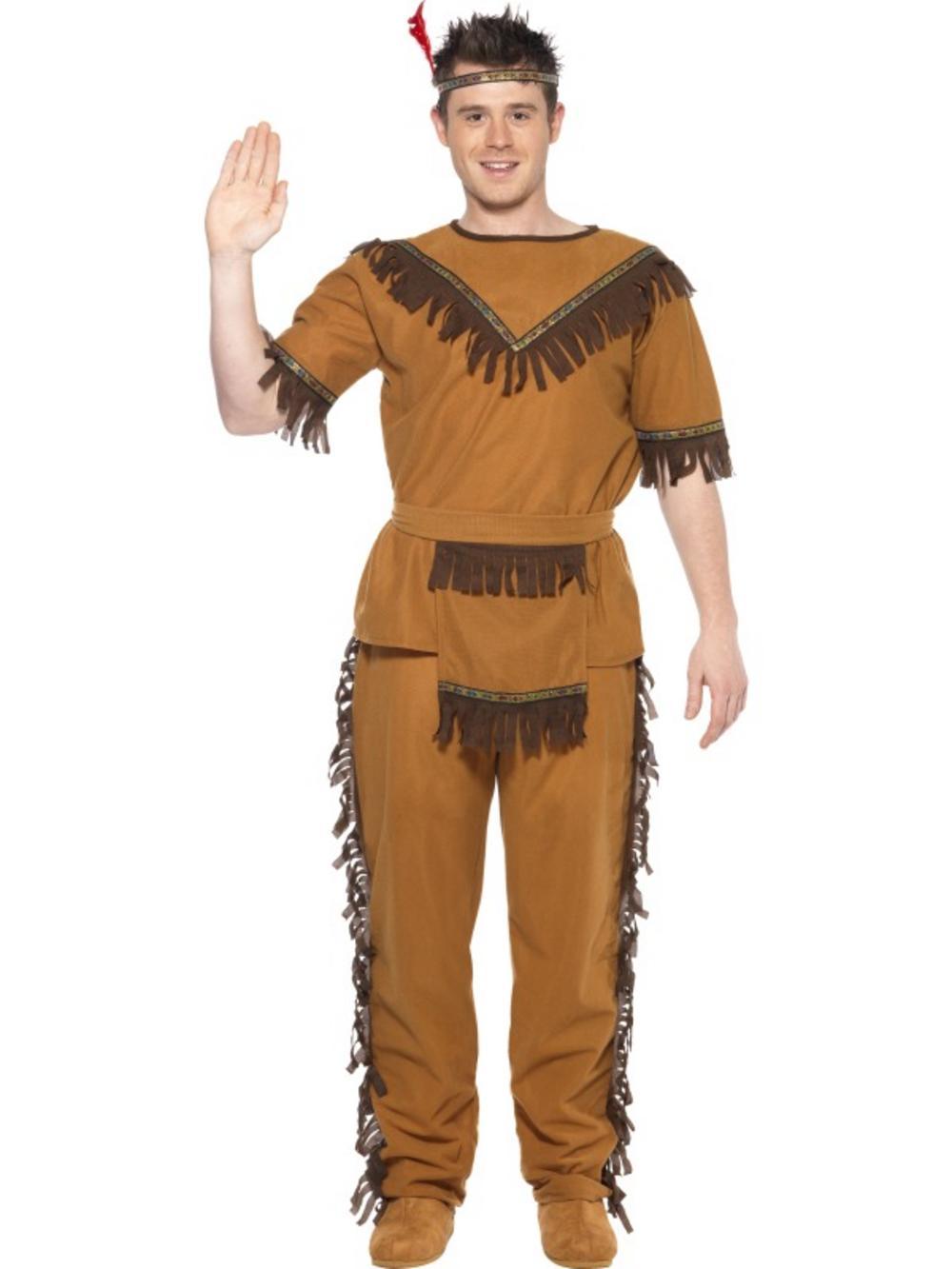 Indian Brave Costume