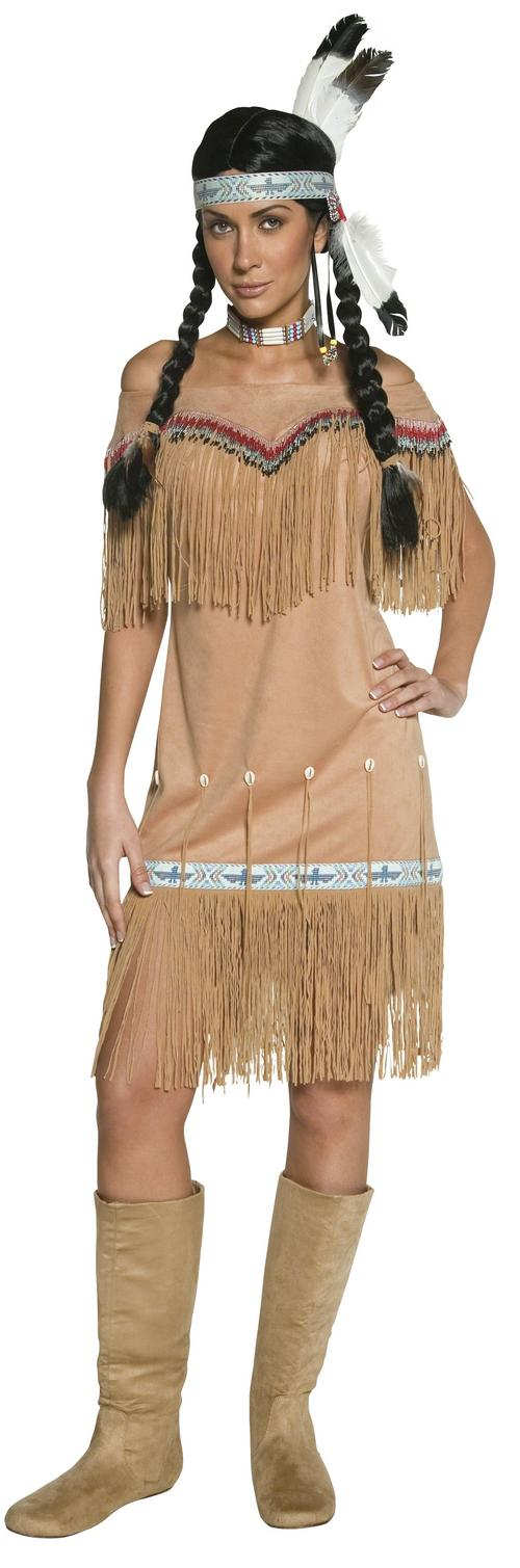 Western Indian Lady Costume