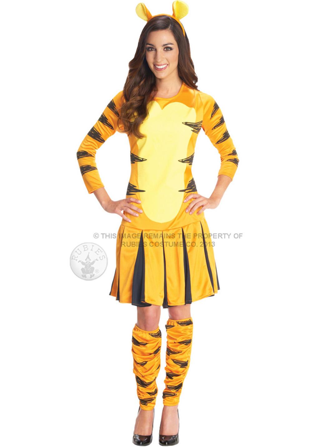 Adult costume tigger