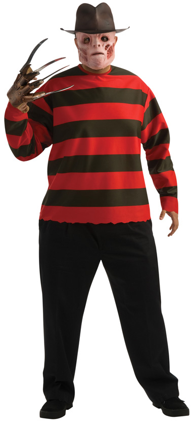 Plus Size Freddy Krueger Costume All Mens Halloween Costumes