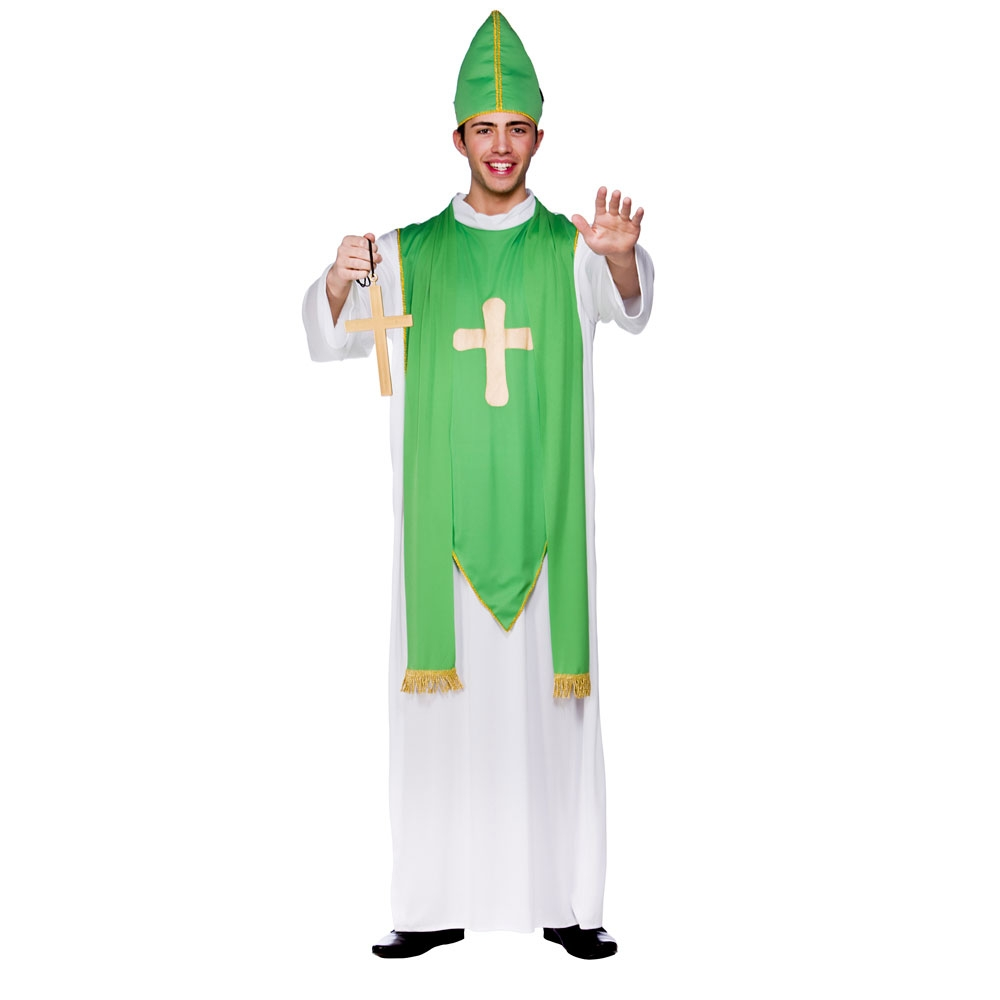 St Patrick Fancy Dress Costume  sc 1 st  Mega Fancy Dress & St Patrick Fancy Dress Costume | St Patricks Day Costumes | Mega ...