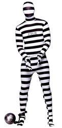 Convict Skinz Bodysuit Costume