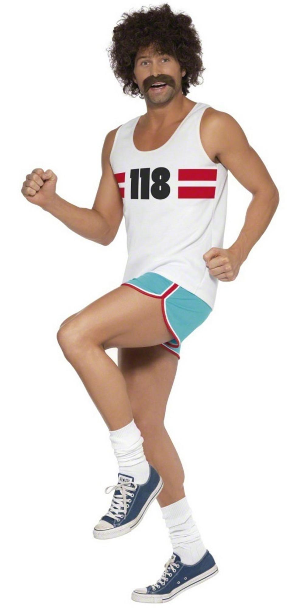 118118 Male Runner Costume