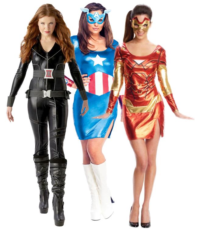 Sentinel Avengers Superhero Ladies Costumes Comic Book Movie Womens Halloween Fancy Dress  sc 1 st  eBay & Avengers Superhero Ladies Costumes Comic Book Movie Womens Halloween ...
