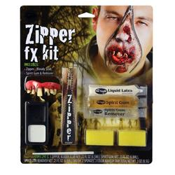 Deluxe Zipper FX Zombie Makeup