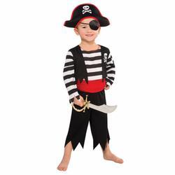 Deckhand Pirate Fancy Dress Costume