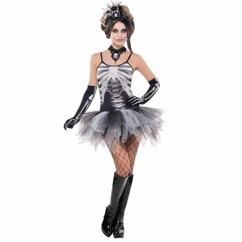 Black & Bone Skeleton Costume