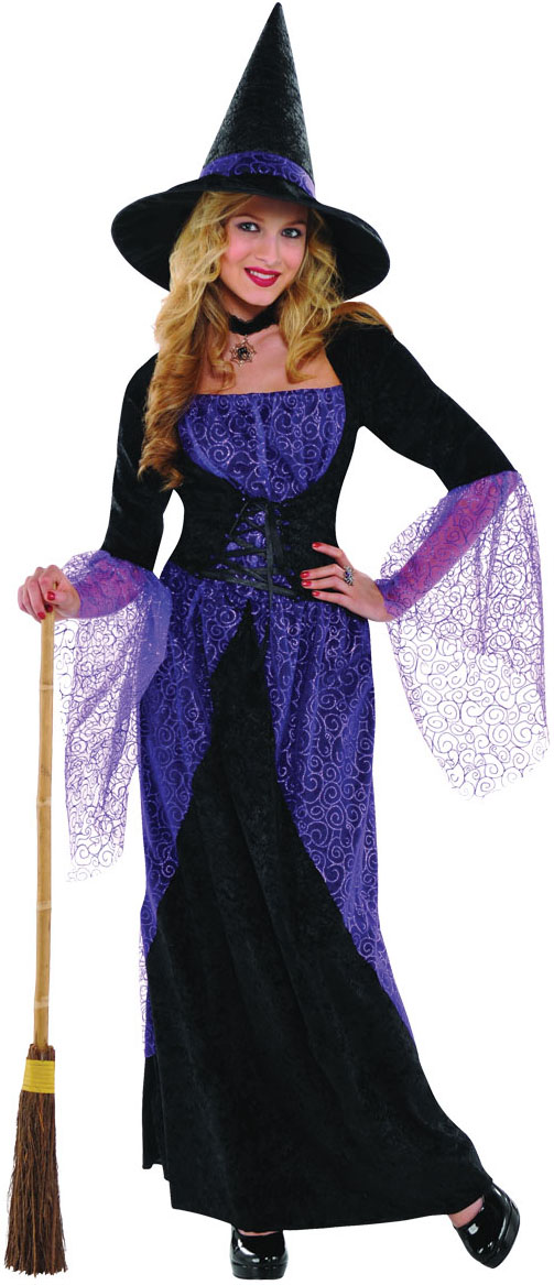 Pretty Potion Witch Costume  sc 1 st  Mega Fancy Dress & Pretty Potion Witch Costume | All Ladies Halloween Costumes | Mega ...