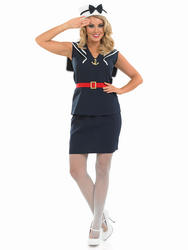 Pin Up Sailor Girl Costume
