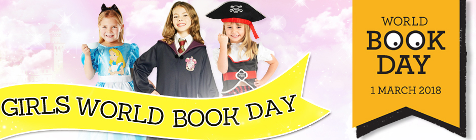 Girl's World Book Day Fancy Dress Costumes