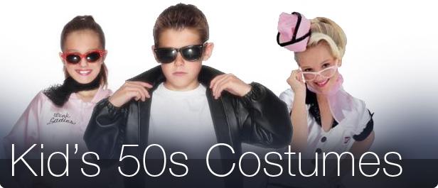 Kid s 1950s fancy dress costumes mega fancy dress