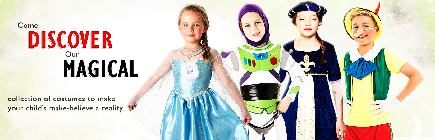 Kids Costumes | Mega Fancy Dress