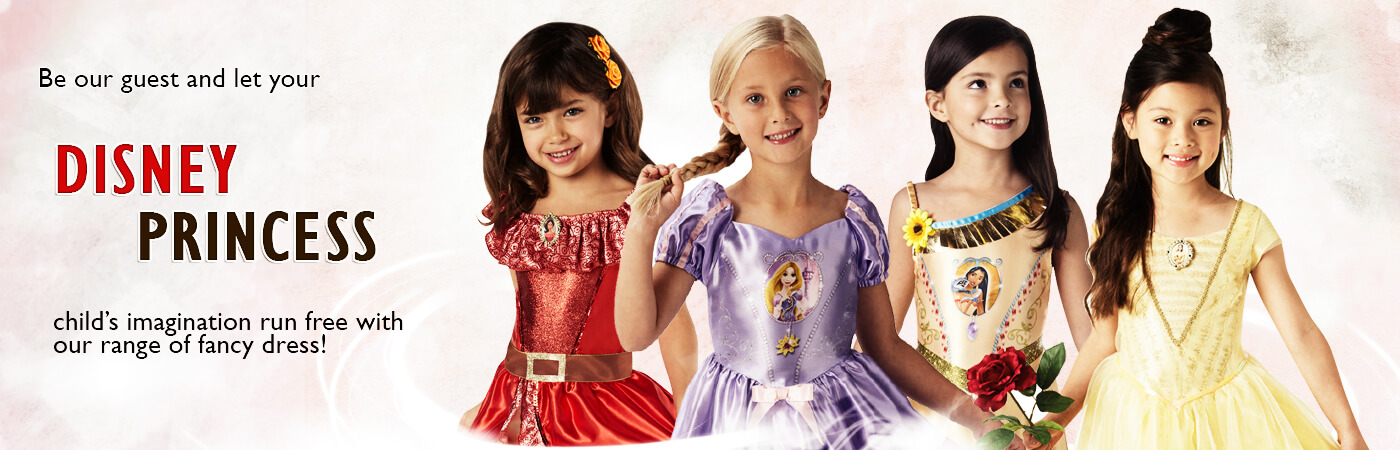 Disney Princess Costumes  sc 1 st  Mega Fancy Dress : costume disney princess  - Germanpascual.Com