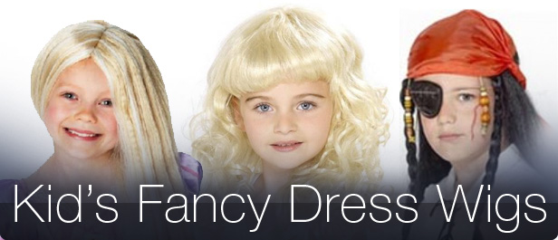 Kid's Fancy Dress Wigs