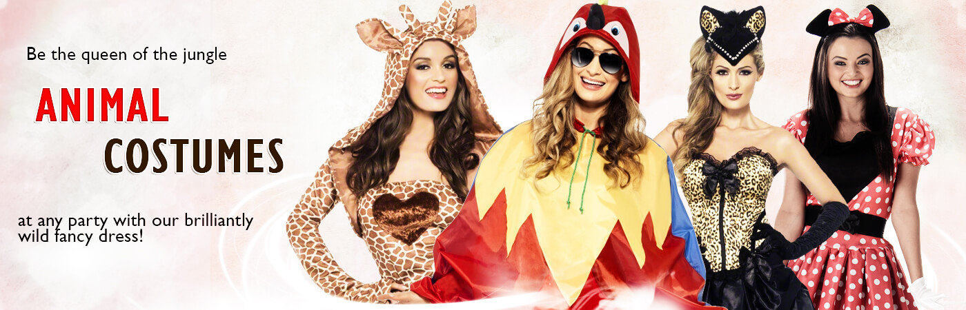 f1d091f26ddf Unleash your inner animal with our fantastic range of Ladies' Animal Fancy  Dress Costumes,from cute plush Ladies rabbit fancy dress costumes to &  Ducks and ...