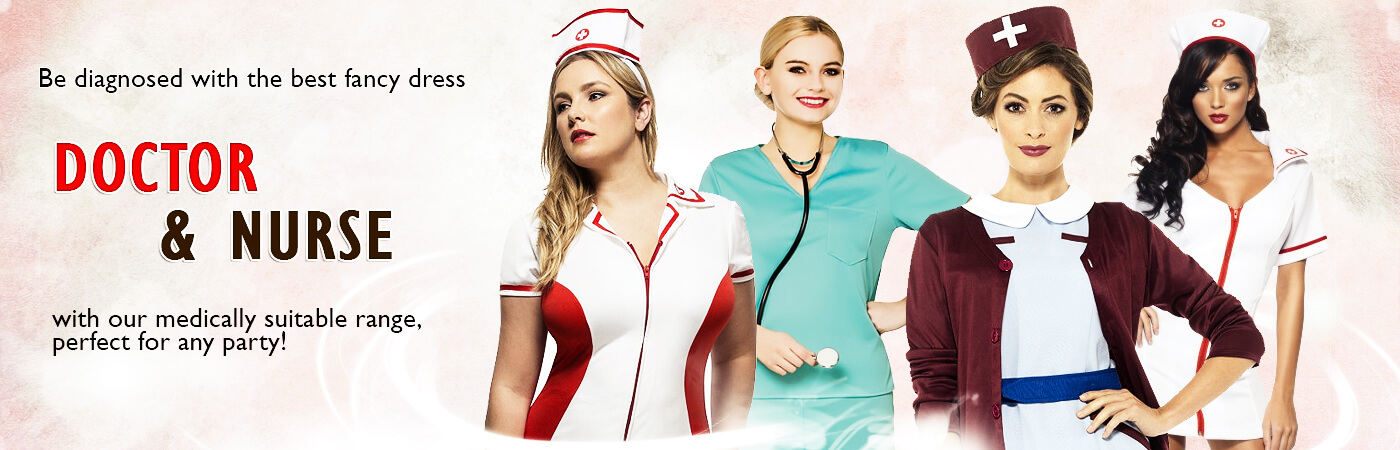Doctors u0026 Nurses Costumes  sc 1 st  Mega Fancy Dress & Doctors u0026 Nurses Costumes | Mega Fancy Dress