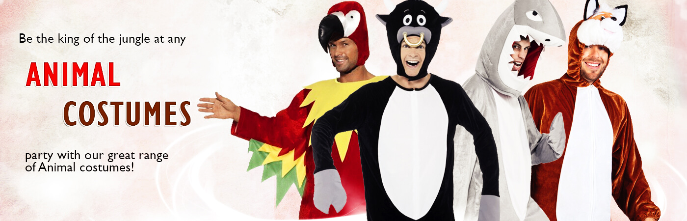 Let Mega Fancy Dress bring out the animal in you! Some of our most popular fancy dress costumes include our lions and monkeys - so whether youu0027re turning up ... & Animal Costumes | Mega Fancy Dress