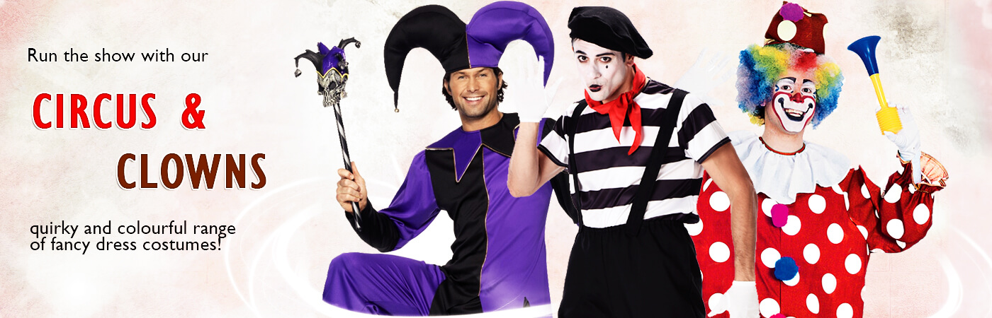 Circus u0026 Clown Costumes  sc 1 st  Mega Fancy Dress : circus freak costume ideas  - Germanpascual.Com