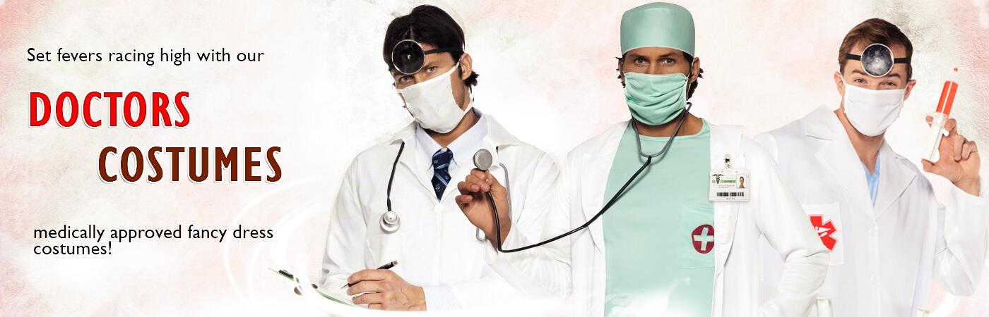 efa12a91f77 Doctors & Nurses Costumes | Mega Fancy Dress