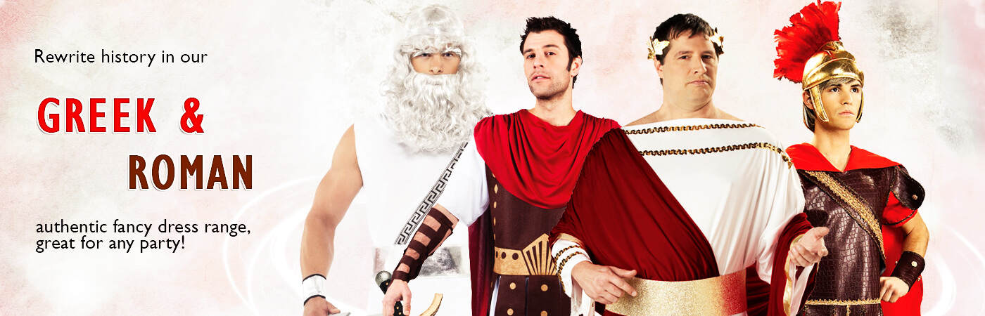 Greek u0026 Roman Costumes  sc 1 st  Mega Fancy Dress & Greek u0026 Roman Costumes | Mega Fancy Dress