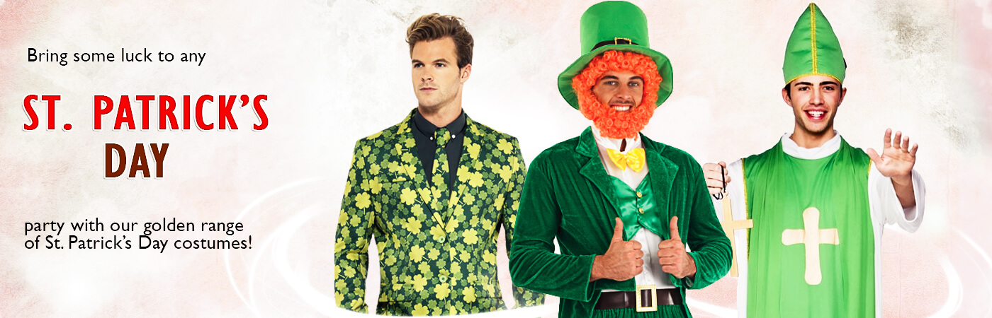 b232575a8 St Patricks Day Costumes | Mega Fancy Dress