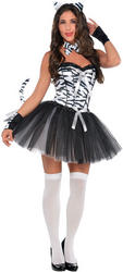 Zebra Girl Costume