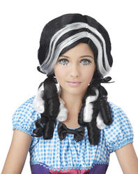 Doll Curls Black Wig