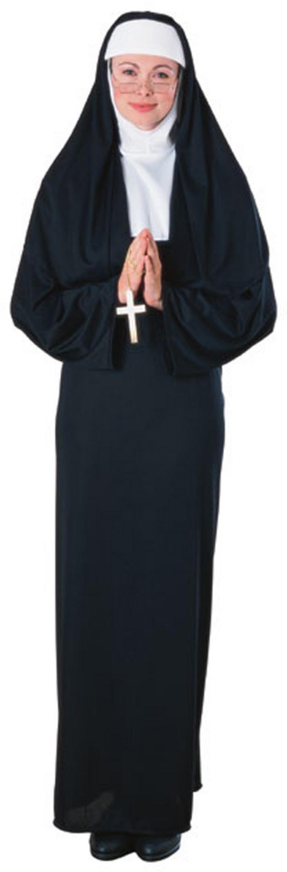 Nun Fancy Dress Costume