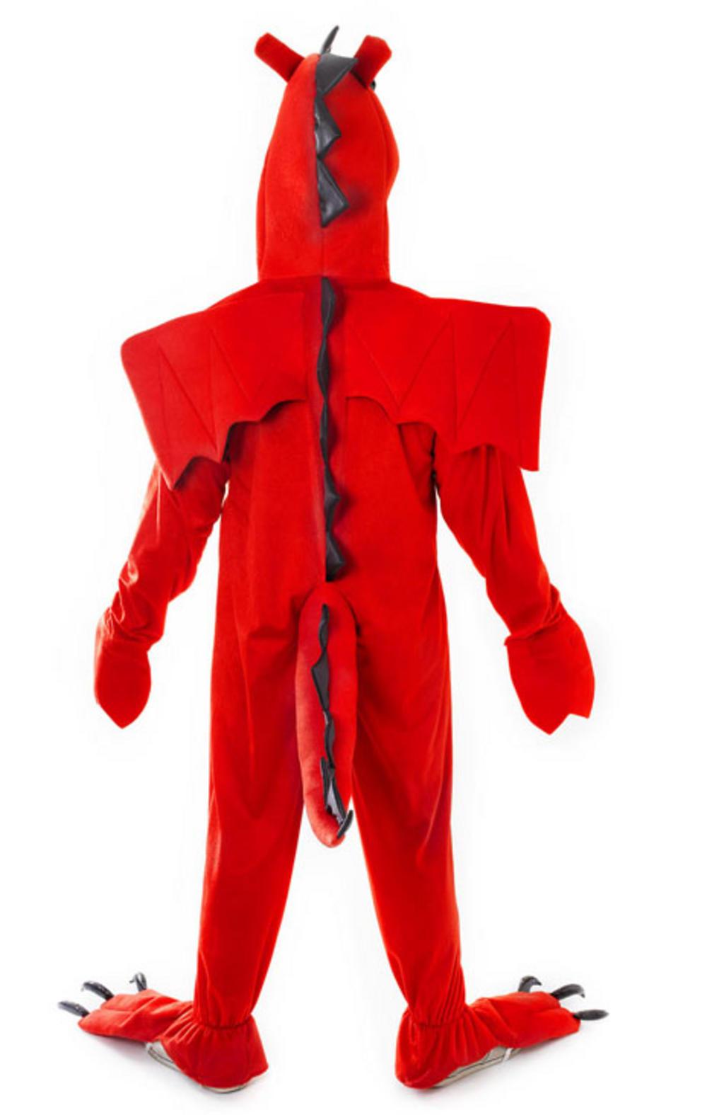 Red Dragon Halloween Costume