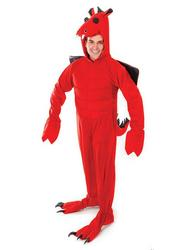 Deluxe Red Dragon Costume