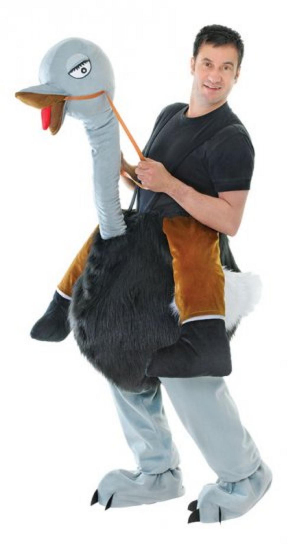 Step in Ostrich Costume