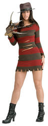 Miss Freddy Krueger Halloween Costume
