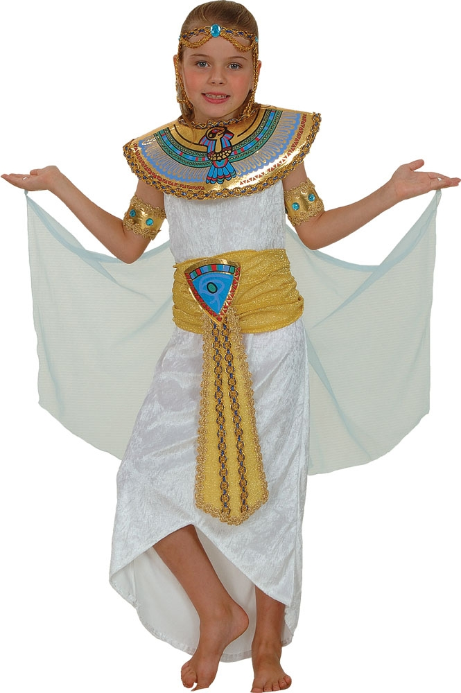 Deluxe Cleopatra Costume  sc 1 st  Mega Fancy Dress & Deluxe Cleopatra Costume | Girlu0027s World Book Day Fancy Dress ...