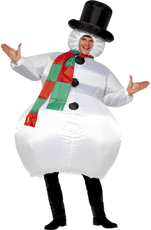 76b6f6a58b0a1 Inflatable Snowman Costume