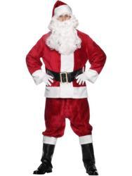 Plush Santa Costume