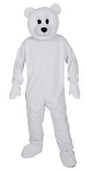 Cool Polar Bear Mascot Costume