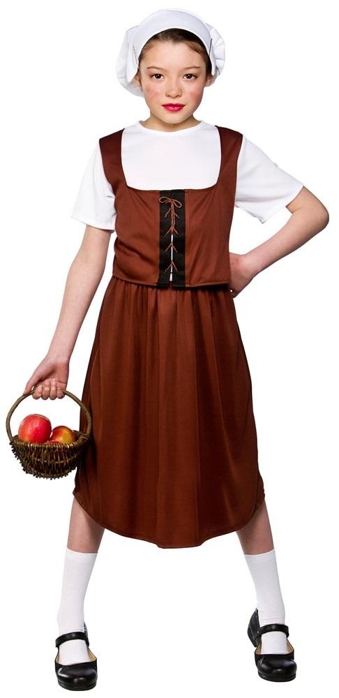 Tudor Peasant Girl Costume  sc 1 st  Mega Fancy Dress & Tudor Peasant Girl Costume | Girlu0027s World Book Day Fancy Dress ...