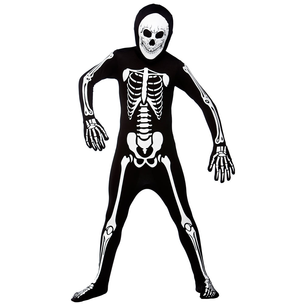 skeleton 2nd skin costume - Skeleton Halloween Costume For Kids