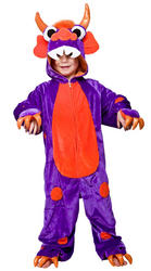 Purple Monster Costume