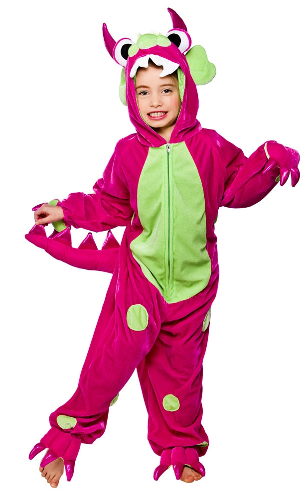 Pink Monster Costume  sc 1 st  Mega Fancy Dress : girl monster halloween costume  - Germanpascual.Com