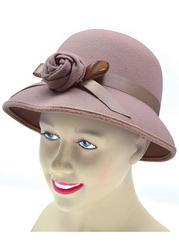 Beige Charleston 20s Hat