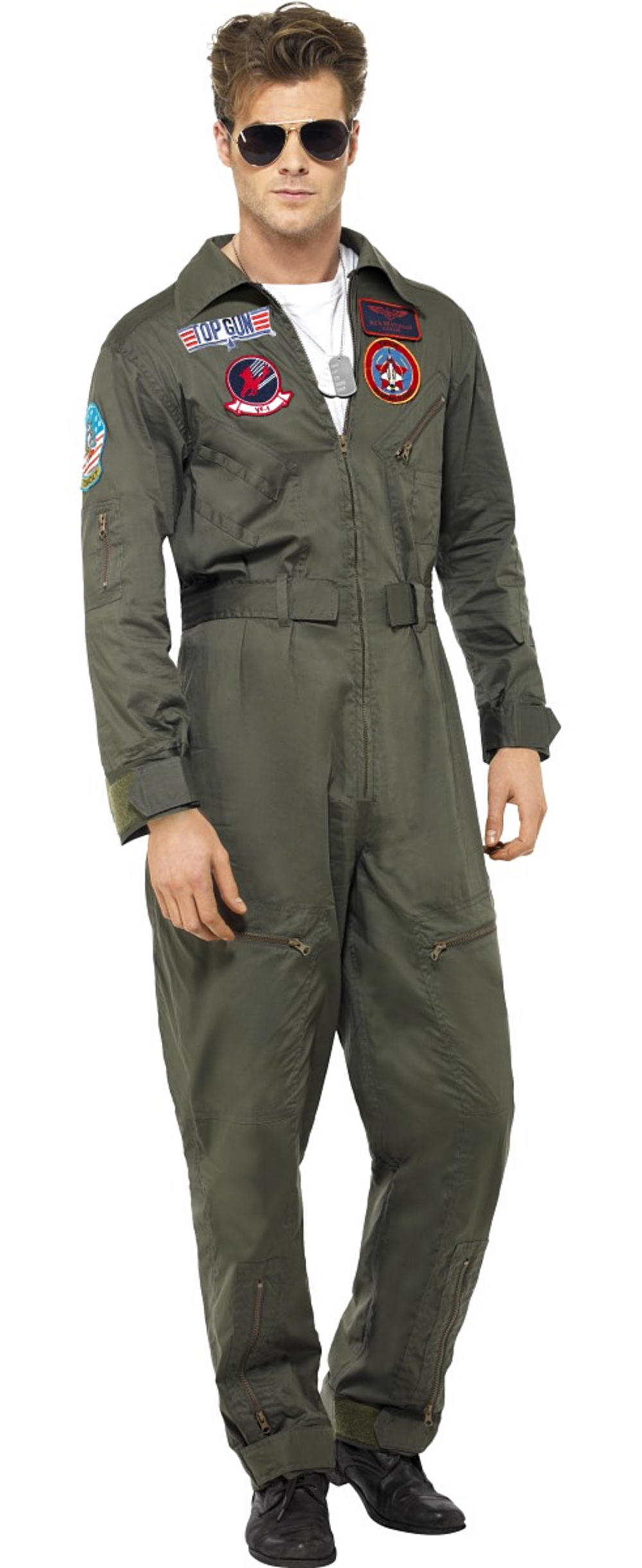 Top Gun Deluxe Male Costume Stag Party Costumes Mega