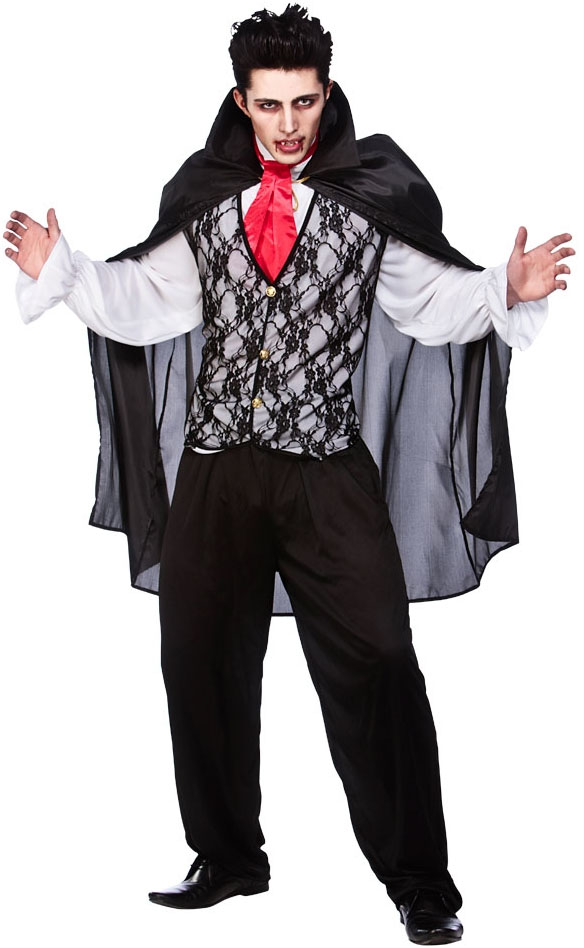 V&ire Prince of Darkness Costume  sc 1 st  Mega Fancy Dress & Vampire Prince of Darkness Costume | All Mens Halloween Costumes ...