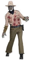 Zombie Sherrif Costume