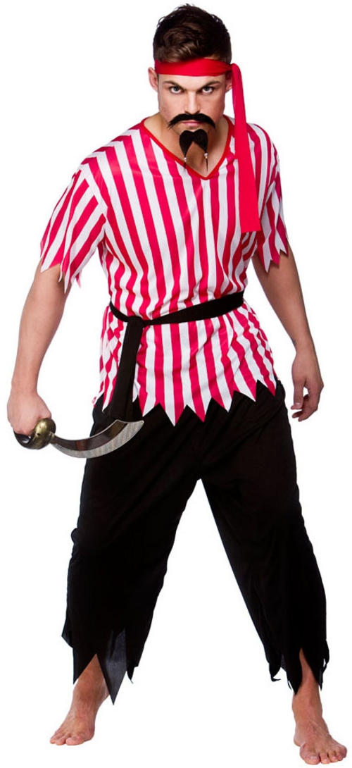 Mens Shipmate Pirate Costume