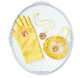 Belle Princess Dress Bag & Glove Set