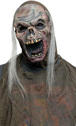 Zombie Mask with Hood & Hair